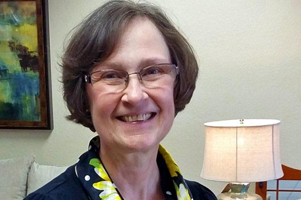 Bernice Darby of Marshall's Furniture in Washington, Iowa